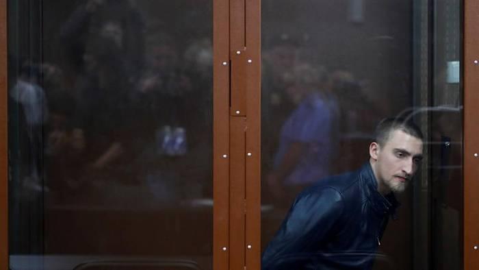 News video: Nach Protesten in Moskau: 3,5 Jahre Haft für Schauspieler Ustinov