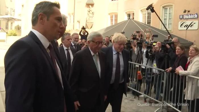 Video: Johnsons Brexit-Treffen mit Juncker ohne Durchbruch