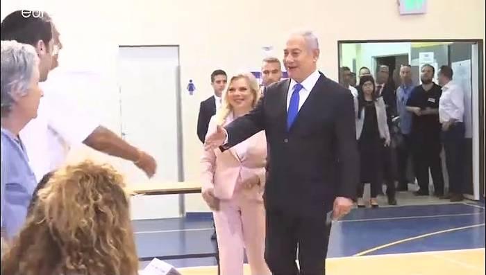News video: Knappes Rennen bei Wahl in Israel - Likud und Blau-Weiß gleichauf
