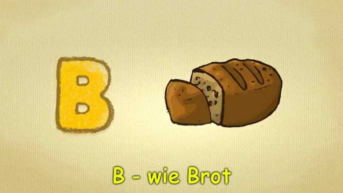 Video: Deutsch lernen für Anfänger - das B-LIED - Buchstaben song deutsch - Phonics Songs A-Z Letters