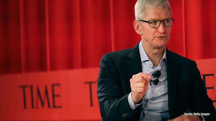 News video: Apple-CEO Tim Cook: Er spendet Teil seiner Prämie für den guten Zweck