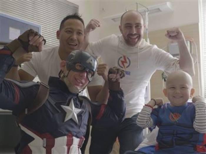 News video: Inspire In A Minute: SuperTees für Kinder
