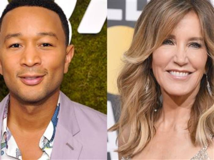 News video: John Legend verteidigt Felicity Huffman