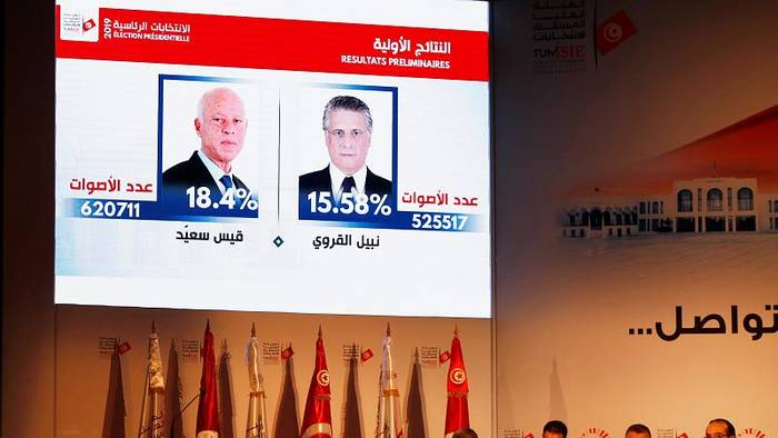 News video: Außenseiter Kais Saïed und Nabil Karoui gehen in Stichwahl um Tunesiens Präsidentenamt