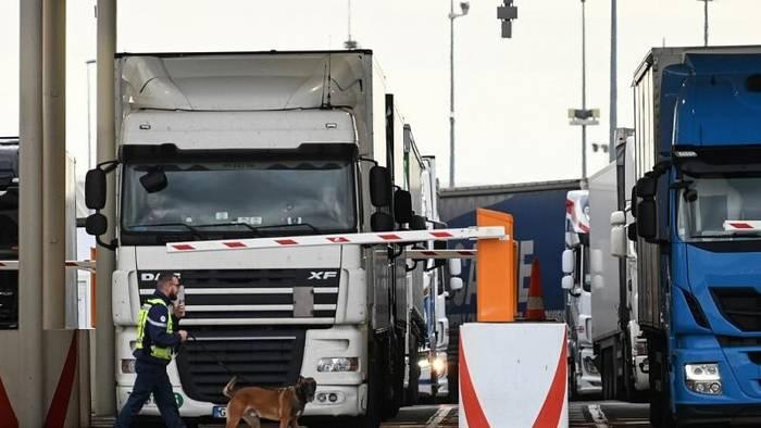 Video: Brexit-Generalprobe am Eurotunnel