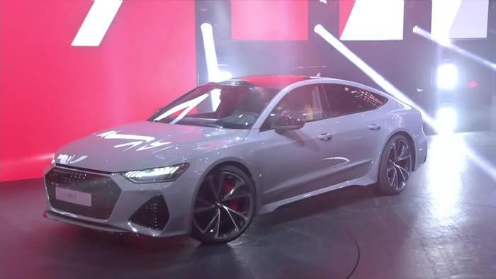News video: Audi RS 7 Weltpremiere auf der 2019 IAA