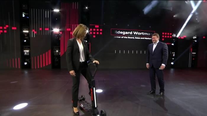 News video: Audi e-tron Scooter Premiere auf der 2019 IAA