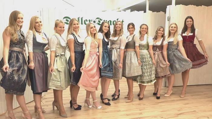News video: tz-Wiesn-Madl 2019: Einkleidung bei Daller Tracht
