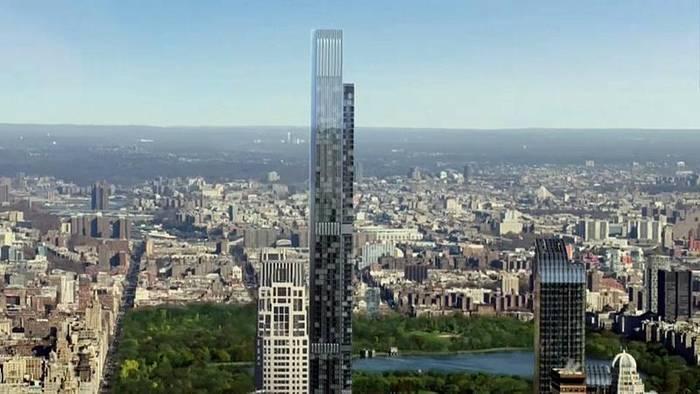 Video: New York: Höchstes Wohnhaus der Welt