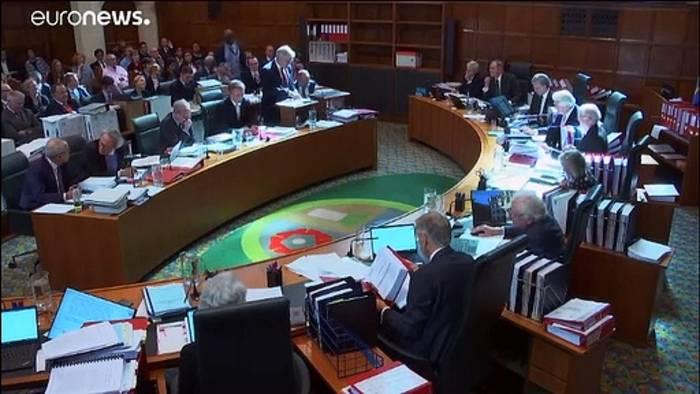 News video: Streit um Parlamentpause: Gerichtsentscheidung steht bevor