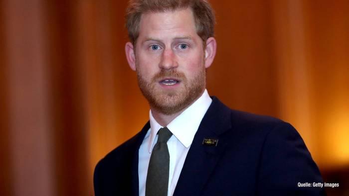 News video: Prinz Harry: SO will er jetzt Leben retten!
