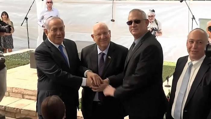 News video: Israel: Gantz bekräftigt Willen zur Bildung einer Einheitsregierung
