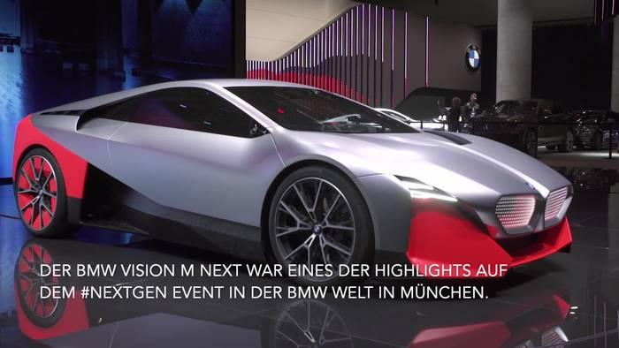 News video: Der BMW Vision M NEXT – die Zukunft des sportlichen Fahrens