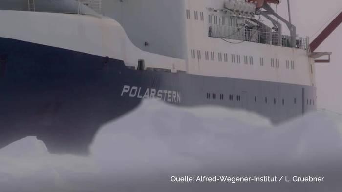 Video: Ein Jahr ewiges Eis - «Polarstern» bricht in Arktis auf
