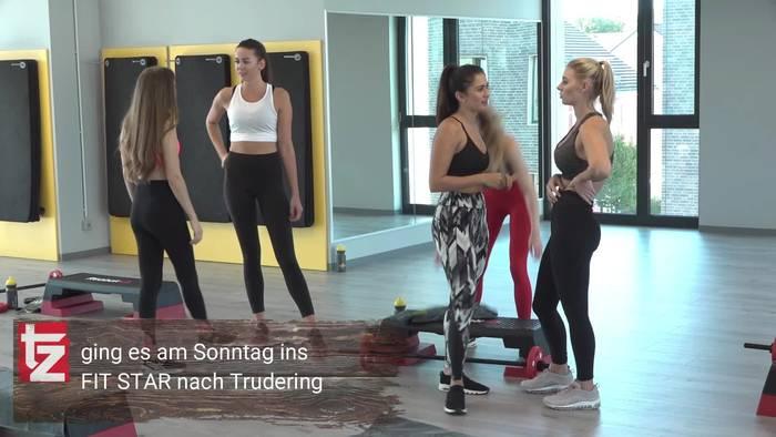 News video: Auserwählte tz-Wiesn-Madl-Anwärterinnen beim FIT STAR Shooting in Trudering