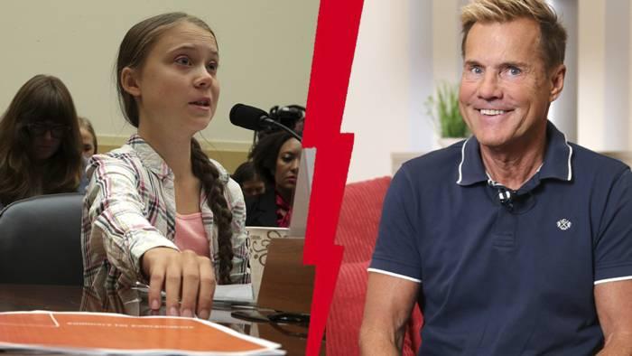 Video: Dieter Bohlen zeigt eindrucksvoll, was er von Greta Thunberg hält : Es wird ihr nicht gefallen