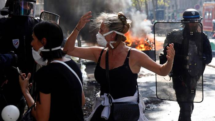 Video: 150 Festnahmen bei Gewaltausbrüchen in Paris: