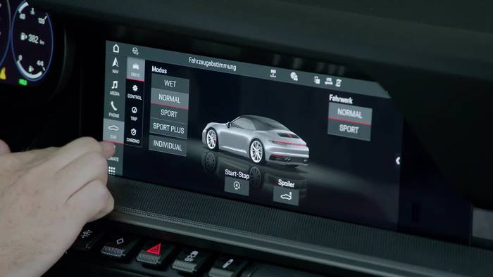 News video: Entwicklung Porsche 911 - Software, Infotainment und Connect