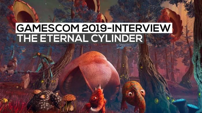 News video: The Eternal Cylinder - Das Interview | gamescom 2019