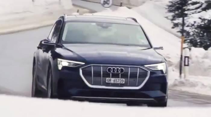 Video: Audi elektrisiert Weltwirtschaftsforum in Davos