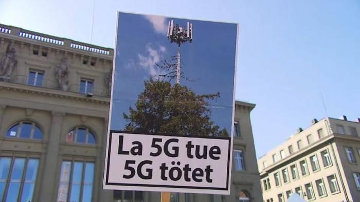 Video: Proteste gegen 5G in der Schweiz