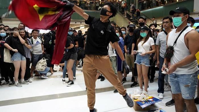 News video: Wieder Proteste in Hongkong - Großes Polizeiaufgebot