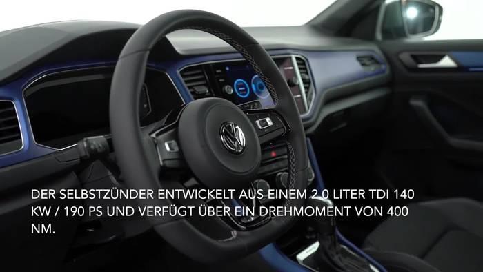 Video: Volkswagen T-Roc mit neuer Top-Motorisierung und mehr Optionen zur Individualisierung