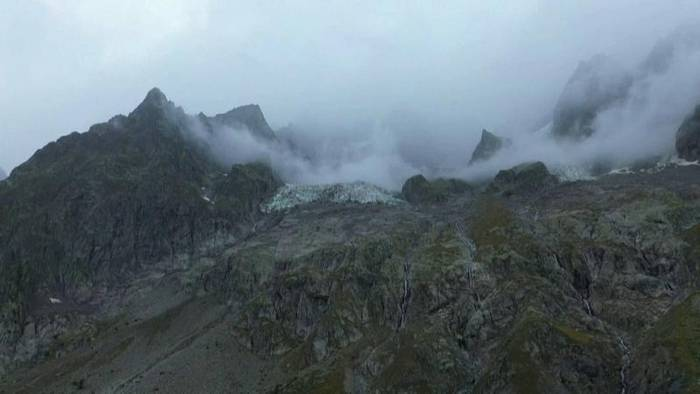 Video: Sorge um Gletscher am Mont Blanc