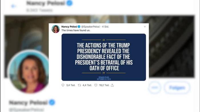 Video: Impeachment: Mögliches Amtsenthebungsverfahren gegen Trump