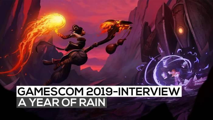 News video: A Year of Rain - Das Interview | gamescom 2019