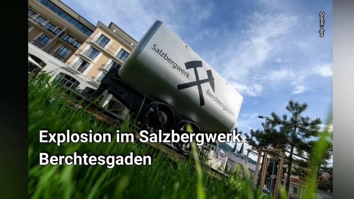 News video: Explosion im Salzbergwerk: Waren Schweißarbeiten im Stollen schuld?