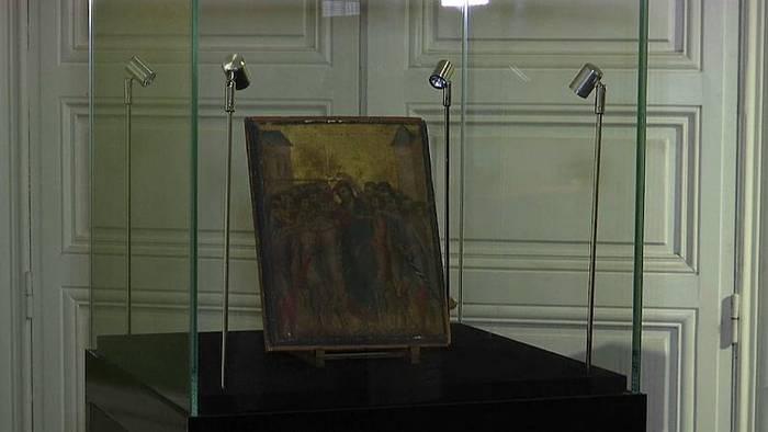 Video: Wertvolles Cimabue-Gemälde entdeckt