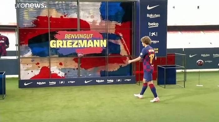 News video: Spott und Häme in Spanien: 300 € Strafe für den FC Barcelona im Griezmann-Fall