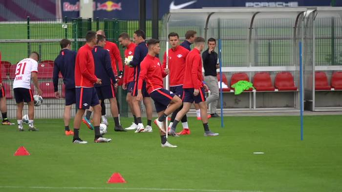News video: Fußball pur: Das Spitzenspiel RB Leipzig gegen Schalke 04