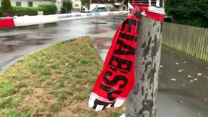 News video: Frau in Göttingen auf offener Straße von Mann getötet