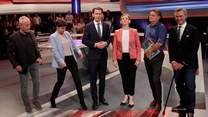 Video: Österreich-Wahl: Schlagabtausch in Elefantenrunde
