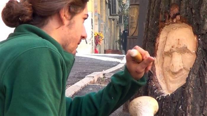 Video: Inspire in a minute: Kunst in toten Bäumen