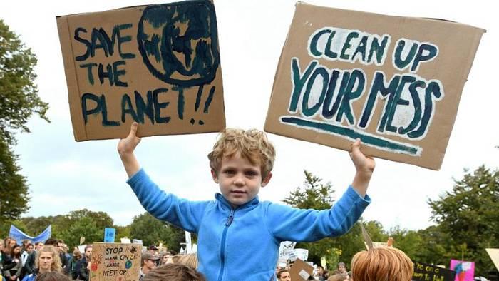 Video: Madrid, Stockholm, Rom: Klimastreik geht in die zweite Runde