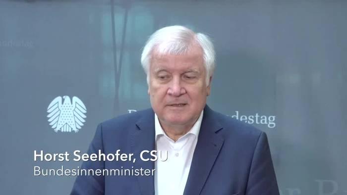 Video: Seehofer verteidigt Pläne zur Seenotrettung
