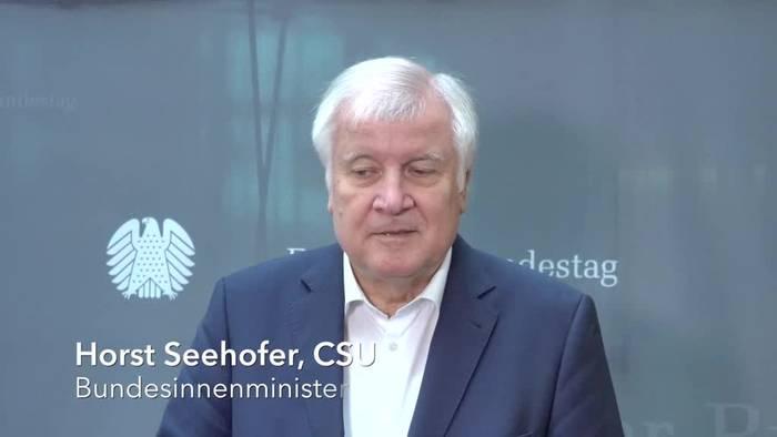 Video: Viel Zuspruch für Seehofers Initiative zur Migrationspolitik