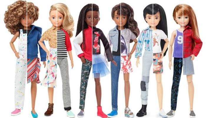News video: Mattels erste gender-neutrale Puppen