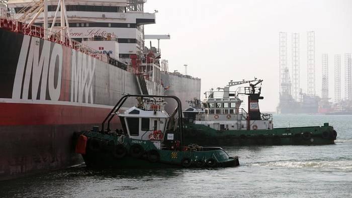 News video: Im Iran festgesetzter Öltanker: