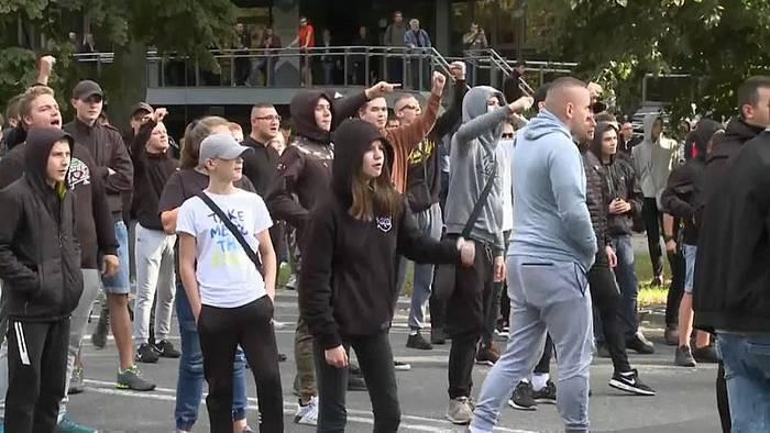 News video: Attacke auf Gay-Pride-Parade in Polen