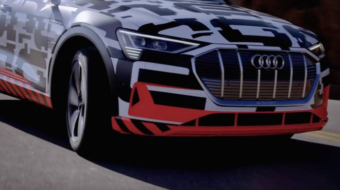 Video: Audi e-tron-Prototyp extrem - Bremstest am Pikes Peak