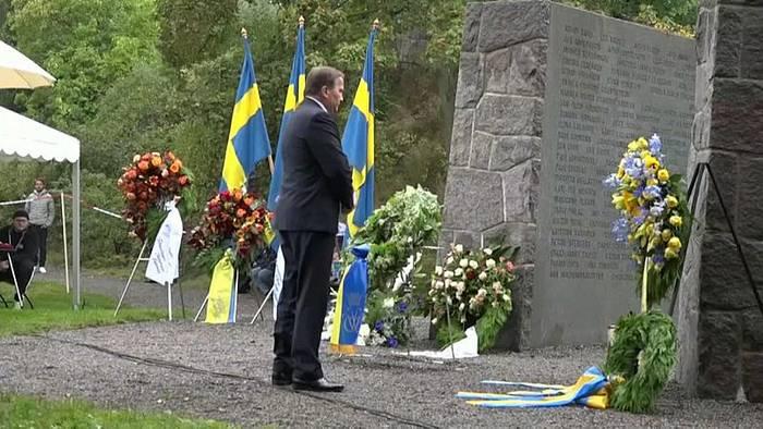 News video: Schweden gedenkt der 852 Opfer des Estonia-Untergangs