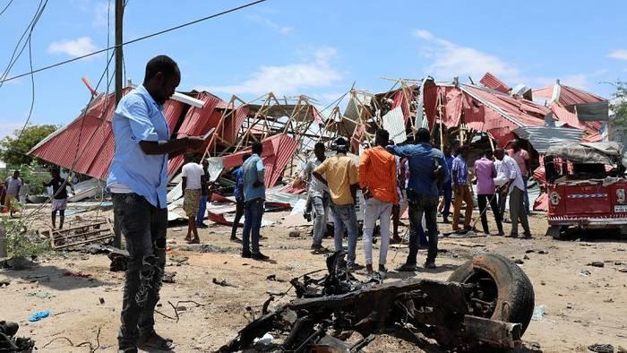 News video: Angriff auf Stützpunkt mit US-Soldaten in Somalia