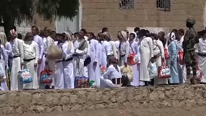 Video: Huthi-Rebellen im Jemen lassen 290 Gefangene frei