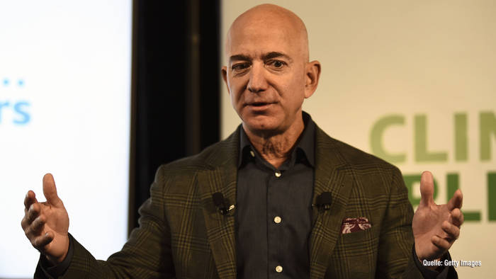Video: Laut neuer Umfrage: Jeff Bezos ist größtes Unternehmer-Vorbild