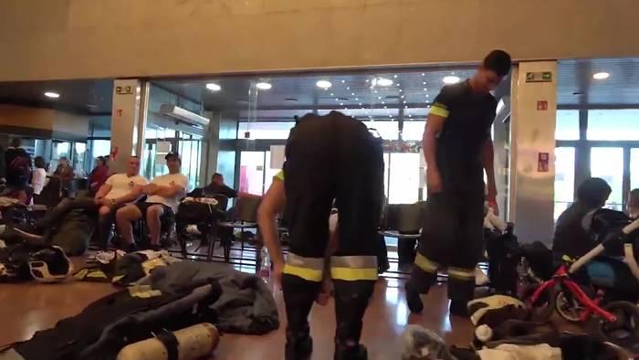 News video: Extremsport!? Treppensteig-Meisterschaft der Feuerwehren!
