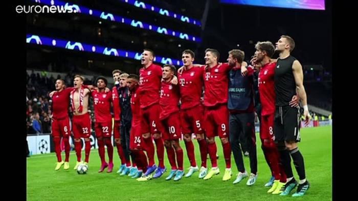 Video: Champions League: FC Bayern deklassiert Tottenham - Barca erwartet Inter Mailand